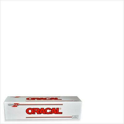 """Oracal 651 WHITE 010 Hobby Craft Sign Auto Boat Vinyl Self Adhesive 12"""" x 10 Ft."""