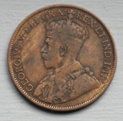 1914 Canada Large Cent