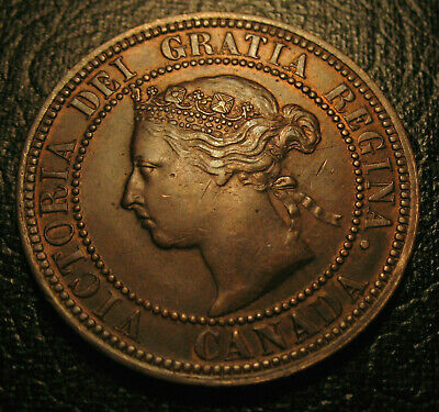 Old Canadian Coins 1882 H Canada  Large Cent Highgrade Better Date Beauty