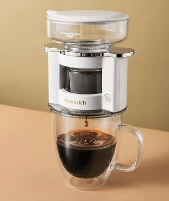Filter coffee make, Hand drip coffee maker, Auto turn, Oceanrich