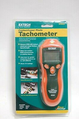 Extech RPM33, Combination Contact/Laser Photo Tachometer