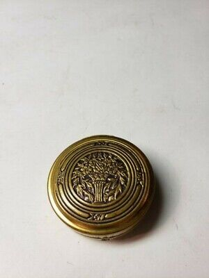 Early 1900S Pompeian Bloom Compact With Mirror