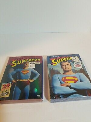 The Adventures of Superman TV Series Seasons 1-2 DVD BUNDLE New, Sealed, RARE!