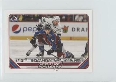 2019-20 Topps NHL Stickers Highlights Colorado Avalanche Team #121