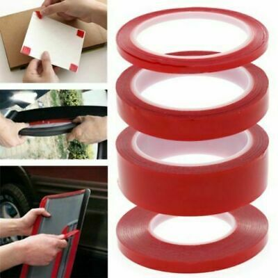 Red Film 3M STICKY ADHESIVE TAPE Cell Phone Repair 1 2 3 4 5 6 8 10 mm Thickness