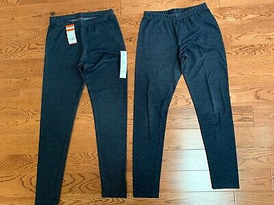 Two Pair Girl's Cat & Jack Jean Leggings [One New} Size XL 14/16
