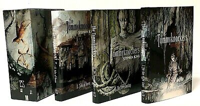 Signed Limited 1st Ed. Tommyknockers 3 Book Slipcase Stephen King PS Publishing