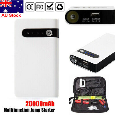 20000mAh Portable Car Jump Starter Vehicle Engine Battery Charger USB Power Bank