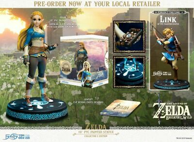 "The Legend of Zelda - Zelda Breath of the Wild Vinyl 10"" Statue Collector's E..."