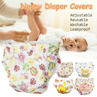 Adjustable Baby Pocket Cloth Diaper Cover Infant Kid Nappy Washable Reusable