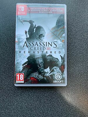 Assassins Creed Remastered Nintendo Switch Game Fast UK Post