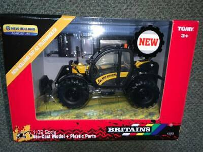 BRITAINS 43263 1:32 SCALE NEW HOLLAND TH7.42  TELEHANDLER YELLOW