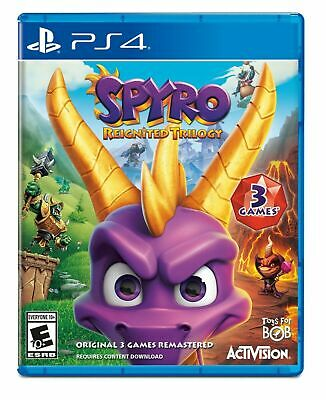 Spyro Reignited Trilogy Playstation 4 PS4 Game Fast UK Post