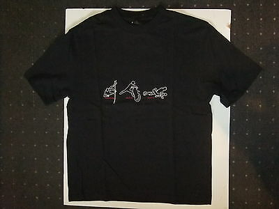 NEUES T Shirt Hemd L  schwarz No  Fear Enduro Cross MX Racing