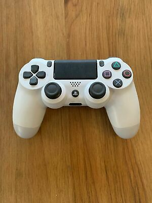 Official Sony Dualshock 4 Wireless Controller for PlayStation 4 - Glacier White