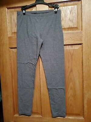 SO Perfect Leggings, Juniors Large, Solid Gray, Cotton/Polyester/Spandex