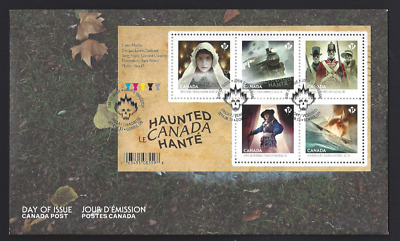 Canada   # 2748 SS     HAUNTED CANADA   Brand New 2014 Unaddressed Cover