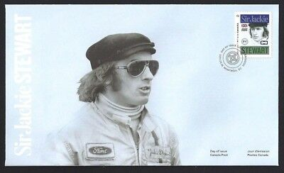 Canada # 2993   Formula One Driver - Stewart    Brand New 2017 Unaddressed Cover