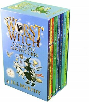The Worst Witch - 8 Book Collection by Jill Murphy - Brand New and Sealed