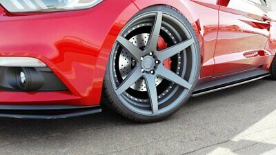 Side Skirts Add-On Diffusers For Ford Mustang Mk6 (2014-19)