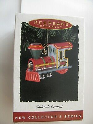 Vintage Yuletide Central Hallmark Keepsake Ornament  (Series Verification 1) Nib