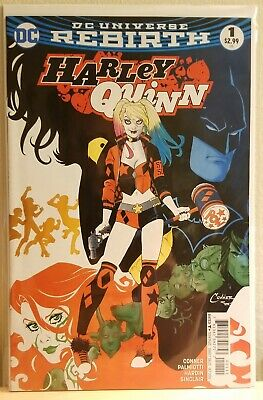 Harley Quinn #1-#4 DC Rebirth Amanda Conner NM Comics Lot Birds of Prey Key