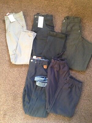 Brand New Boys Trouser Bundle From Next Size 9 Yrs
