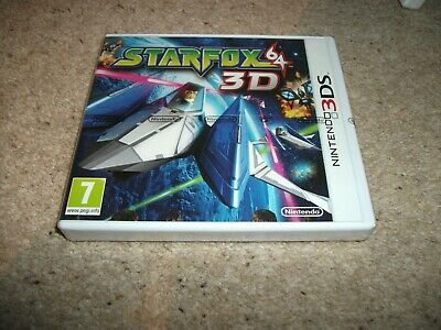 Star Fox 64 3D for Nintendo 3DS (original UK release) - PAL/UK (New & Sealed)