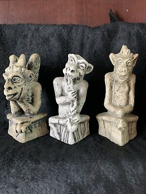 Vintage Replica Gargoyles From Notre Dame de Paris, France