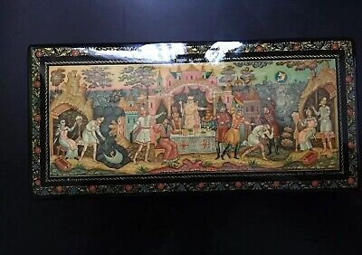 Russische Lackdose, Mstera, Russland, Russian Lacquer Box, Schatulle