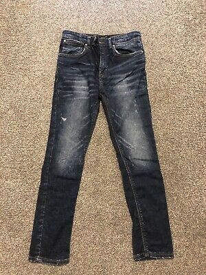 River Island Boys Skinny Jeans Age 11 Years Worn Once
