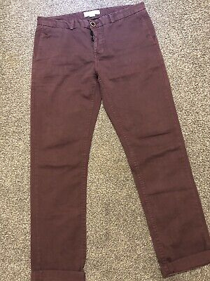 River Island Chino Trousers 32 Waist 32 Leg 32 Regular