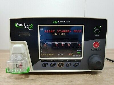 Criticare Poet IQ2 8500Q anesthetic agent gas monitor - stand-alone monitor