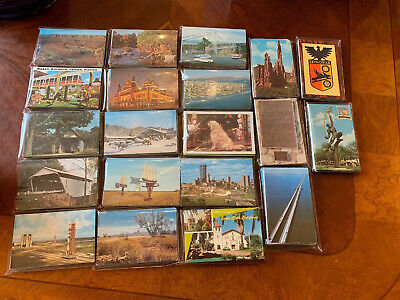 CONTINENTAL TYPE. ALL FOREIGN   UNPOSTED LOT OF 50  POSTCARDS ALL CHROME