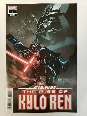 Star Wars The Rise of Kylo Ren #3 MARVEL 1:25 Stefano Landini Variant Cover VF