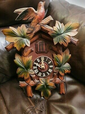 Vintage black forest cuckoo clock Regula Movement Spares & Repair