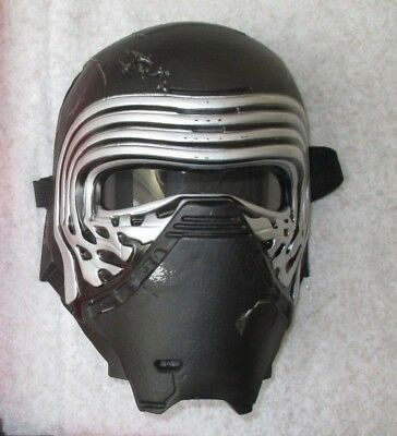 Star Wars Kylo Ren Mask Electronic Voice Changer The Force Awakens Costume Prop