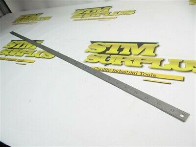 "Starrett Precision 36"" Rule Tempered No. C305R Usa"