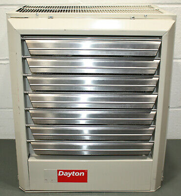 Dayton Electric Unit Heater 2YU73, 3 Phase, 480V AC, 15kW, Forced Fan 51200 BtuH