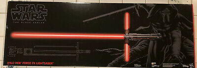 Star Wars The Black Series Kylo Ren Force FX Deluxe Lightsaber BRAND NEW