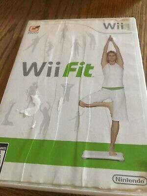 Wii Fit game for Nintendo Wii with Manuel