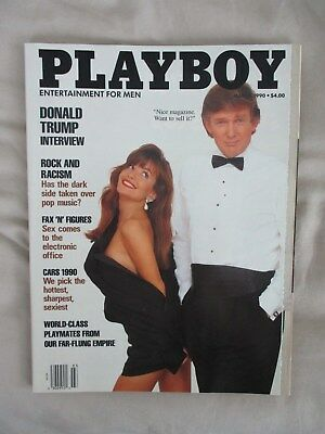 Playboy Magazine, Mar 1990, Donald Trump, President, Acquitted, Nice Condition
