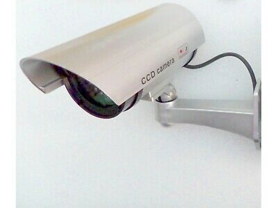 CCTV Dummy Fake Security Cameras with Flashing IR LED Indoor Outdoor