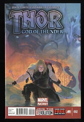 Thor God of Thunder (2012) #2  1st Gorr God Butcher!