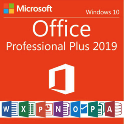 MICROSOFT OFFICE 2019 PROFESSIONAL PLUS 32/64bit License Key 🔑 Instant Delivery