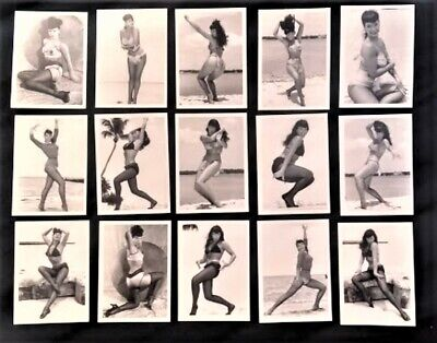BETTY PAGE QUEEN OF CURVES  Complete Mint Set of 50 Pinup Trading Cards 1996