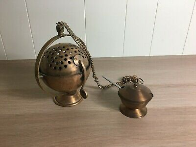 Thurible (Censer) And Boat With Spoon