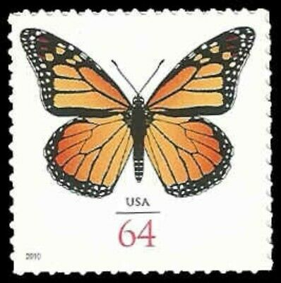 US #4462 64c Monarch Butterfly, 2010, MNH, (PCB-6)