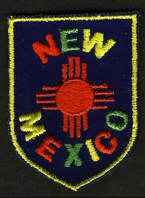Vintage New Mexico Embroidered Cloth Souvenir Travel Patch