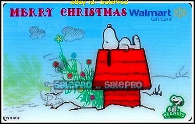 Walmart #Vl11023 Peanut Sleeping On Red Home 3D Lenticular Collectible Gift Card